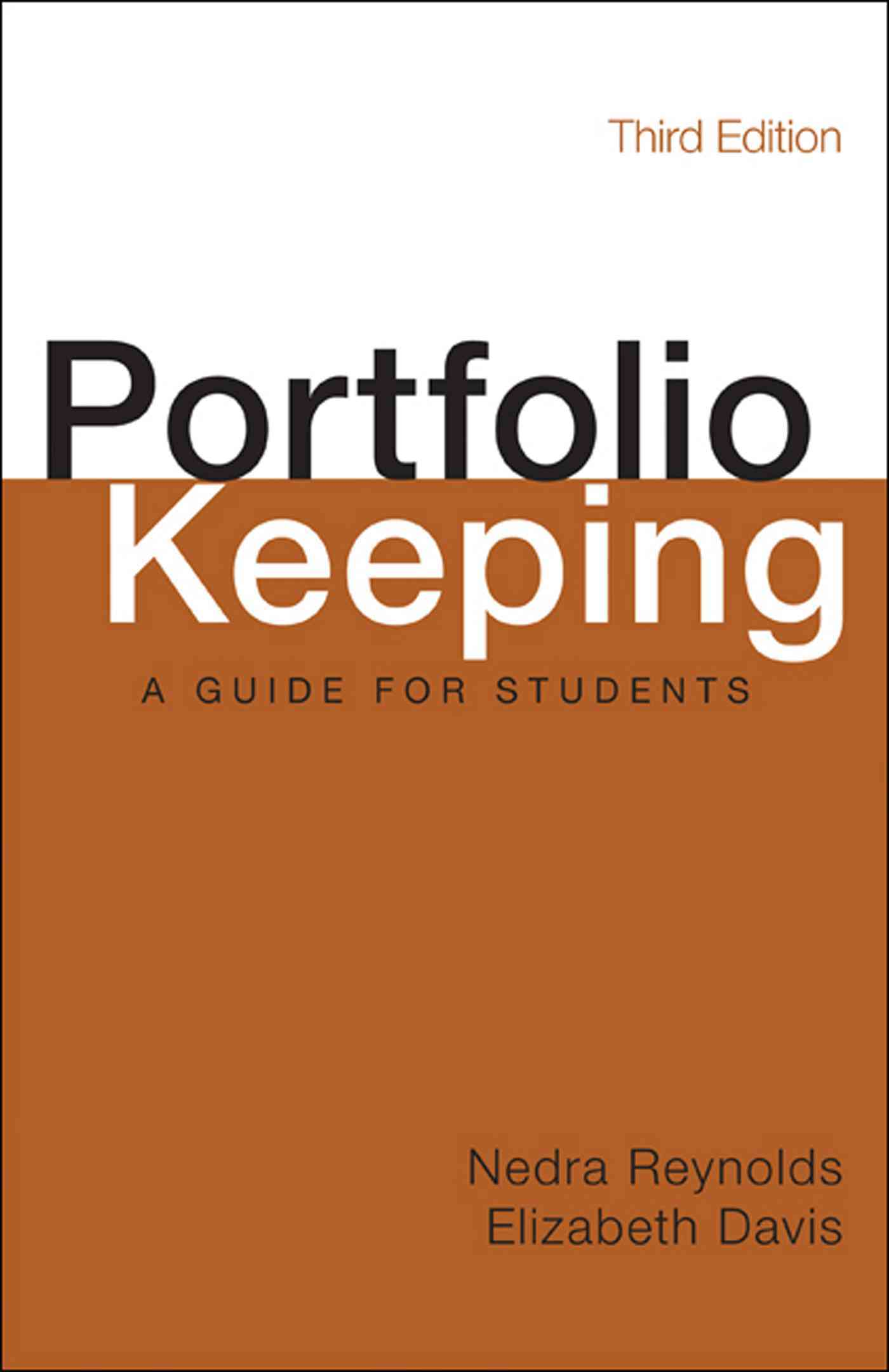 Portfolio Keeping By Reynolds, Nedra/ Davis, Elizabeth